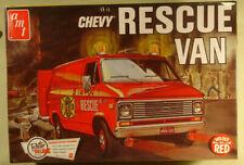 AMT Chevy Rescue Van 1/25 new sealed reissue 2014 Round 2