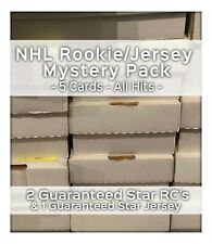 NEW MYSTERY NHL HOCKEY CARDS PACK! *READ DESC* STAR RCs - GUARANTEED JERSEY!!!
