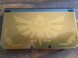 """""""New""""Nintendo 3DS XL Hyrule Edition Gold"""
