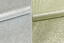 20 x A4 10 GOLD 10 SILVER NON SHED SOFT TOUCH GLITTER PAPER, APPROX  150GSM