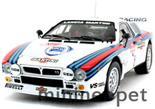 KYOSHO 08302F LANCIA 037 RALLY MARTINI 1983 SAN REMO WINNER #6 1/18 WHITE