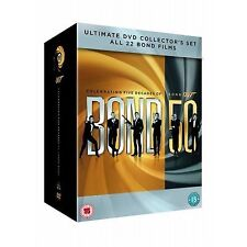 JAMES BOND - THE COMPLETE 23 FILM MOVIE COLLECTION DVD BOX SET BRAND NEW