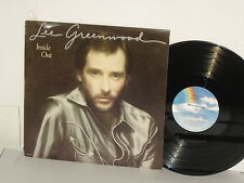 LEE GREENWOOD Inside Out LP 1982 She's Lying Home Away From Home Ain't No Trick
