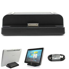 USB Sync Charger Cradle Dock Station&Cable for Samsung Galaxy Tab 2 7.7/8.9/10.1