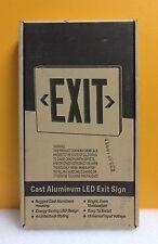 Hubbell / Dual Lite Sempra SESRWE-24K Cast Aluminum LED Exit Sign, New-Unused