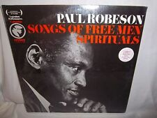 PAUL ROBESON-SONGS OF FREE MEN SPIRITUALS NEW SEALED LP