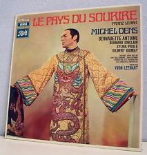 """2 x 33T LE PAYS DU SOURIRE Franz LEHAR LP 12"""" M. DENS ANTOINE SINCLAIR Operette"""
