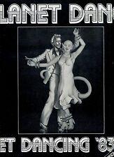 PLANET DANCE get dancing '83  SPECIAL MIX ALBUM EX LP HOLLAND