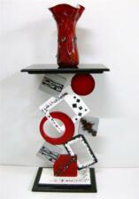 Beautiful Contemporary Modern Abstract Art Funky Geometric Table Floor Sculpture