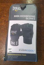 Everlast Evercool MMA Kickboxing Gloves - Black