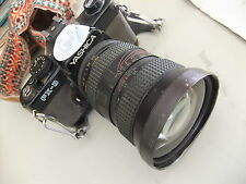 Camera YASHICA  FX-3 with auto image f=2,8 28-80mm lens ..  G5
