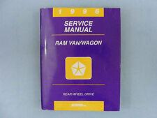 Service Manual, 1996 Dodge Ram Van/Wagon, Rear Wheel Drive, 81-370-6107