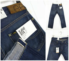 Nuevo Lee 101Z The Original Cremallera Jeans Orillo Denim Pierna Recta W33 L32