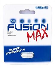 Whitefusion Max Male Performance Supplement and Testosterone Booster - 1 Capsule