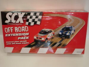 SCX Analogue Off Road Extension pack track for slot cars 1/32 scale new