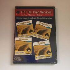 TPS Test Prep Services PC CD-Rom - Composition, Vocab, Grammar, Spelling - NEW!