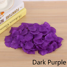 200/500/1000PCS Flowers Silk Rose Petals Wedding Party Table Confetti Decoration