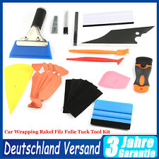 Auto Folien Set Werkzeuge Signieren Car Wrapping Rakel Filz Folie Tuck Tool Kit