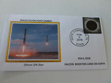 Spacex Falcon Boosters Land On Earth 2018 Space Cover Colorano Limited Ed. {#3}