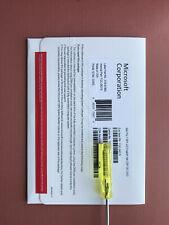 Microsoft Windows 7 Pro Professional SP1 32 Bit -DVD & Product key - FQC-08279