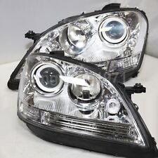 Silver Housing For Benz W164 ML280 ML320 ML350 Front Lights 2005-2008 Year TYC