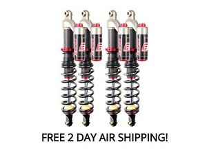Elka Stage 3 Front And Rear Shocks Suspension Kit Arctic Cat Thundercat 1000