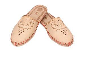 Great polish regional women handmade slippers,mules 4,5-7, 37-41 (Pantoffeln)