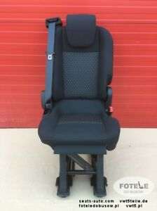 FORD TRANSIT CUSTOM + TAILORED SINGLE/DOUBLE FRONT SEAT COVERS - BLACK