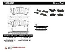 Disc Brake Pad Set-Rear Drum Front Centric 103.06370