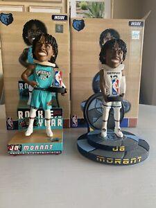 Ja Morant Memphis Grizzlies 2020 NBA ROY FOCO Bobble Head Lot of 2