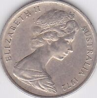 "1972 5 CENT COIN  Five Cent SCARCE Year "" LOW MINTAGE """