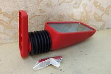 NOS RED SIDE MIRROR VINTAGE CLASSIC Abarth Spider Sport FIAT ALFA ROMEO LANCIA