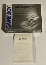 BRAND NEW Nintendo GameBoy Advance SP Platinum Silver ☆MINT☆ Factory Sealed