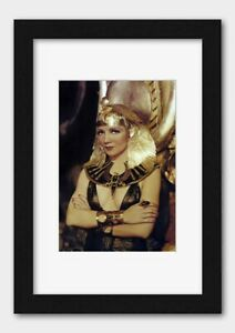 Classic Film Actress Claudette Colbert as Cleopatra in 1934 Print