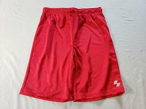 The Children's Place Boy's Drawstring Basketball Shorts NA8 Ruby Red Size XL NWT