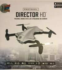 Protocol Director HdFoldable Drone with Live Streaming HD Camera 6182-7RCH MCE