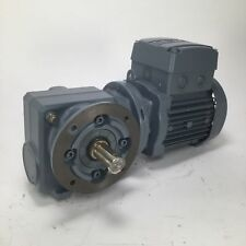 Sew SF37DR63L4/IS reducer 1300/84rpm 0.25kW S1 230/400V IP55 i 15.53:1 Used UMP