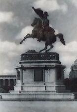 Archduke Karl Equestrian Monument,Heldenplatz, Vienna, Magic Lantern Glass Slide