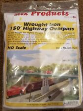 HO SCALE RIX PRODUCTS WROUGHT IRON 150' HIGHWAY OVERPASS # 628-0123 NEW