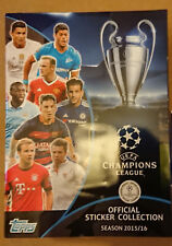 TOPPS - UEFA CHAMPION'S LEAGUE 2015-16 - Sticker Album Vide et Neuf