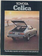 1976 Toyota Celica GT Liftback ST Brochure ww1128