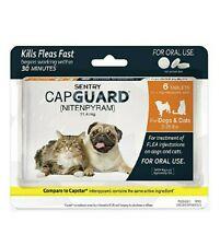 Sentry Capguard Dog Oral Flea Tablet 2-25 lbs 6 Months Medicine flee Exp: 02/202