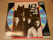 U2 The Unforgettable Fire Collection Laserdisc LD
