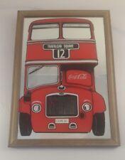 Coca Cola mirror London bus Coca cola mirror - Coca cola mirror London bus