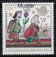 Specimen, Germany ScB842 Christmas, Shepherds.