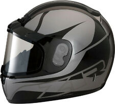 Z1R PHANTOM SNOWMOBILE SNOW HELMET FULL FACE ANTI-FOG SHIELD STEALTH MEDIUM M