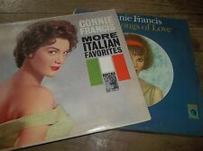 Connie Francis More Italian Favorites Sings Songs Of Love LP x 2