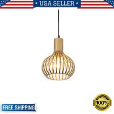 Modern Brass Metal Ceiling Pendant Light Industrial Hanging Lamp E26 110V