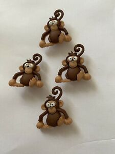 Dress It Up Sew Cute Monkeys Zoo Animal Children Cartoon Cheeky Chimp Craft