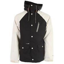 HOLDEN Men's VARSITY Snow Jacket - Black/Bone - Small - NWT
